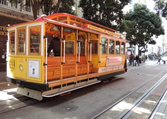 Empty Cable Car
